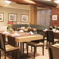Creme brulee w restauracji Aqua Marina