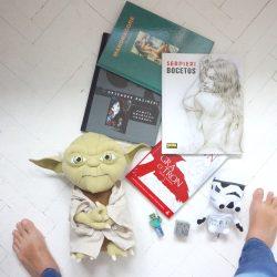 O Karolu, jego sklepie, komiksach i Yodzie