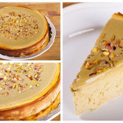 Kto chce sernik pistacjowy z okazji (moich) urodzin? :)