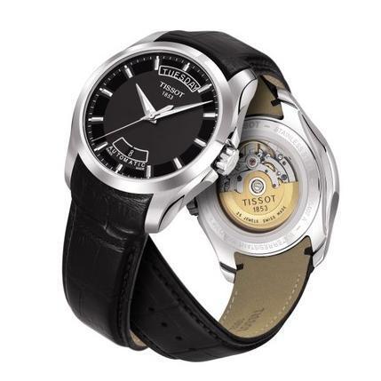 źródło: http://zegarkicentrum.pl/pl/p/Tissot-Couturier-T0354071605100/29323  W ogóle fajna strona z zegarkami. Właśnie po niej głównie buszowałam w ciągu ostatnich miesięcy w poszukiwaniu fajnego zegarka.