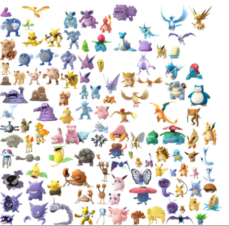 151 Pokemon