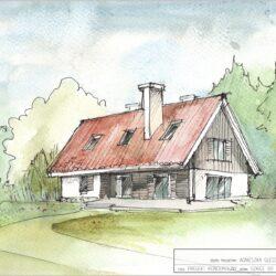 Mamy już projekt naszego wymarzonego domu …bez salonu!